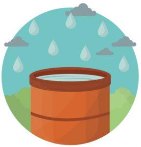 réutilisation de l'eau de pluie